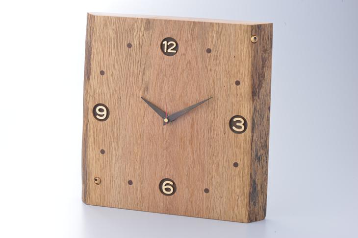 【ふるさと納税】木製時計【三富平地林間伐材使用】