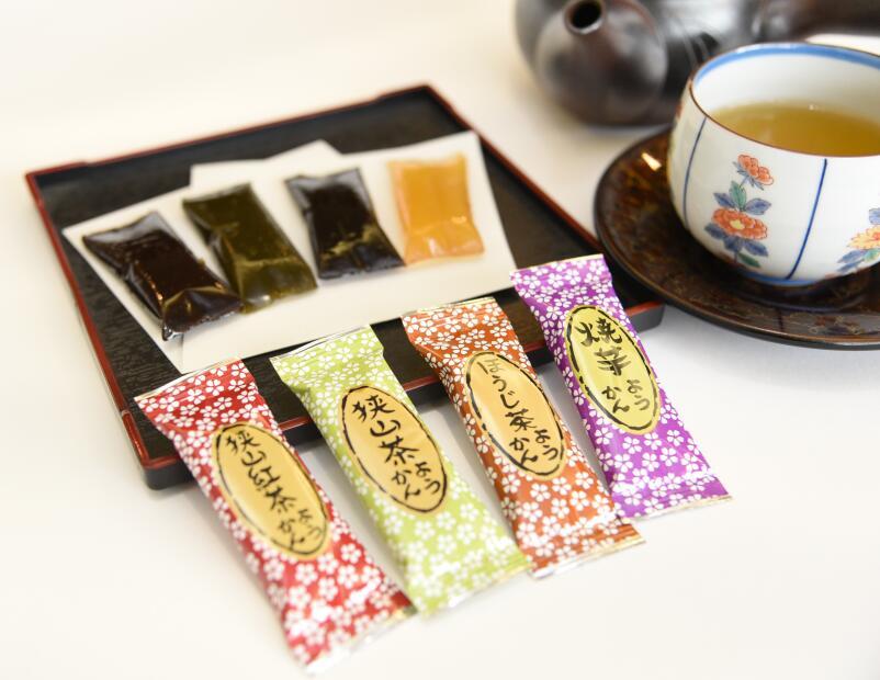 手土産 ギフトにも 個包装のお茶香るスイーツ 農家のまかない茶とひとくち羊羹セット 予約販売品 ふるさと納税 新色追加して再販