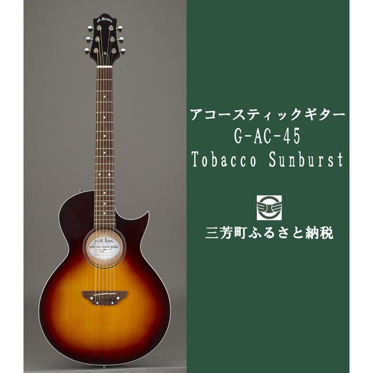 【ふるさと納税】アコースティックギター G-AC-45 Tobacco Sunburst