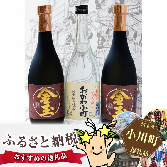 【ふるさと納税】No.009 晴雲 武州おがわの焼酎セット