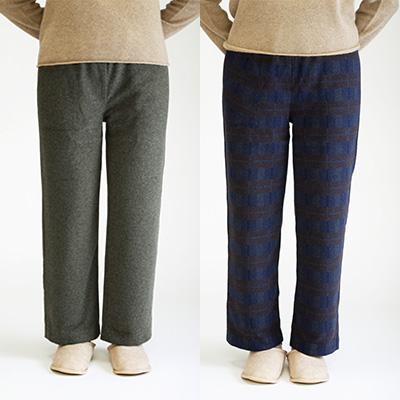 本店 羊毛が温かいレディース 婦人用 のパンツ ゆったりウエスト周りでストレスなし ふるさと納税 メリノン 人気ショップが最安値挑戦 M グレー リラックスパンツ L 紺