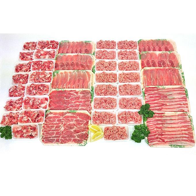 【ふるさと納税】里見和豚良い肉(4,129g) 5651-0405