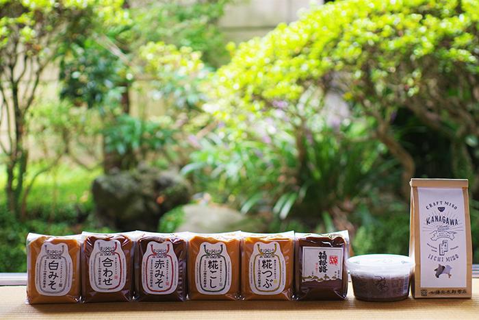 創業嘉永3年の歴史ある味噌蔵が造る味噌 ふるさと納税 いいちみそ8種セット 希望者のみラッピング無料 商店 計3.6kg 小田原市 神奈川県 味噌