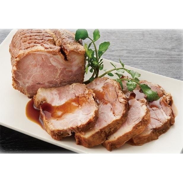 【ふるさと納税】スズキヤ自家製おつまみ煮豚3本セット 【お肉・牛肉・ロース】