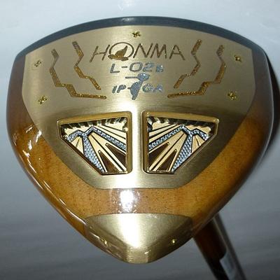 【ふるさと納税】ホンマパークゴルフクラブ「L-02s」【ダークゴールド】1本【1058260】