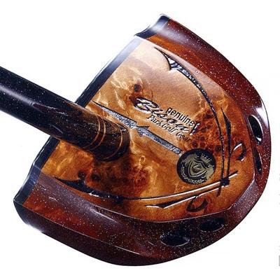 【ふるさと納税】パークゴルフクラブ「ニッタクス ジェニュイン・バイソンV」【ブラウン】【1058273】