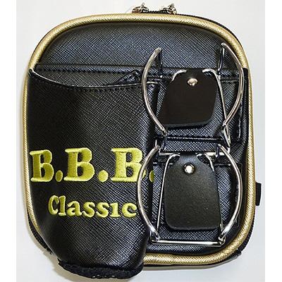【ふるさと納税】パークゴルフ用「B.B.B ウエストポーチ」WPY-017【ブラック】【1058324】
