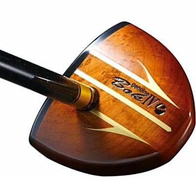 【ふるさと納税】パークゴルフクラブ「ジェニュイン・ボックIV」ブラウン「右用」【1058333】