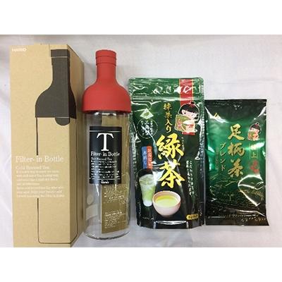 【ふるさと納税】足柄茶 /抹茶入緑茶TB/フィルターインボトルセット【1058252】