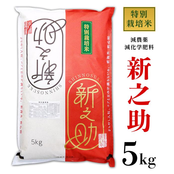 【ふるさと納税】B7-05新潟県長岡産新之助5kg(特別栽培米)