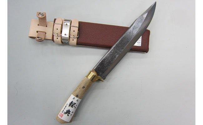 ふるさと納税 タイムセール 055P004 五十嵐刃物工業 木鞘付 山鉈片刃 キャンプ用品にあると便利なナタ 好評