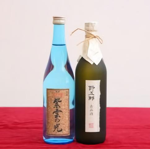 【ふるさと納税】E56 大吟醸・純米吟醸セット(菊水×ふじの井)