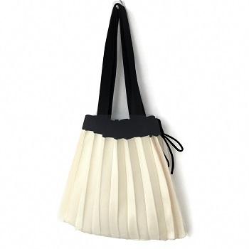 【ふるさと納税】 折りたたみバッグ Lサイズ ecoori エコバッグ ニット 男女兼用 送料無料