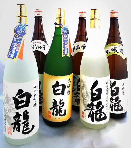 【ふるさと納税】白龍酒造 1.8L詰合せ6本セット