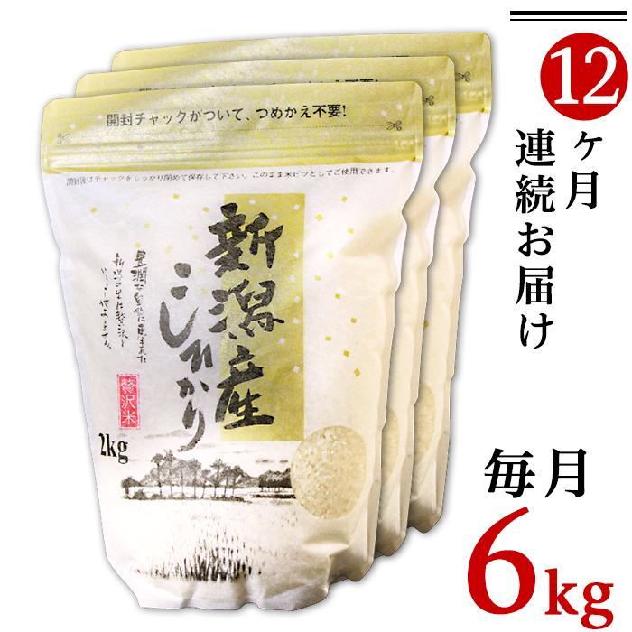 新潟県胎内市 【ふるさと納税】米 定期便 白米 令和2年 31-05...