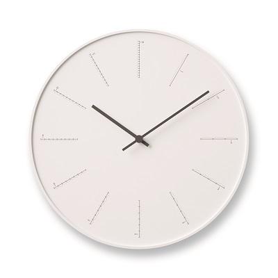 富山県高岡市 品質保証 ふるさと納税 divide NL17-01 WH お届け:※申込状況によりお届け迄1~2ヶ月程度かかる場合があります Lemnos レムノス インテリア 卓抜 時計