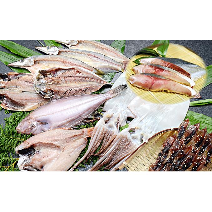 【ふるさと納税】氷見産厳選一夜干し旬の詰合せ 【魚貝類・干物】