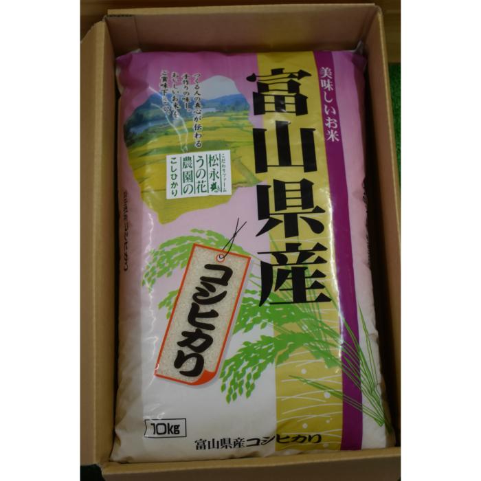 里山の軟粘土質に育まれた美味しいお米 【ふるさと納税】松永うの花農園産 コシヒカリ10kg