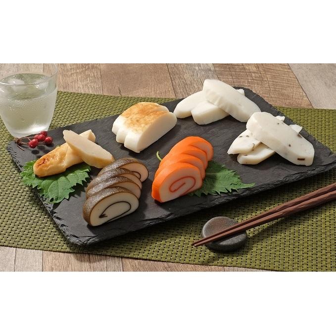 【ふるさと納税】越中巻6本入セット(6種) 【魚貝類・かまぼこ・練り製品】