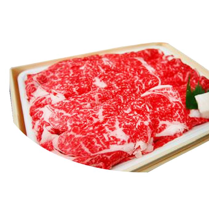 【ふるさと納税】立山放牧和牛すきしゃぶ用 1箱約1kg入 【お肉・すき焼き・牛肉】
