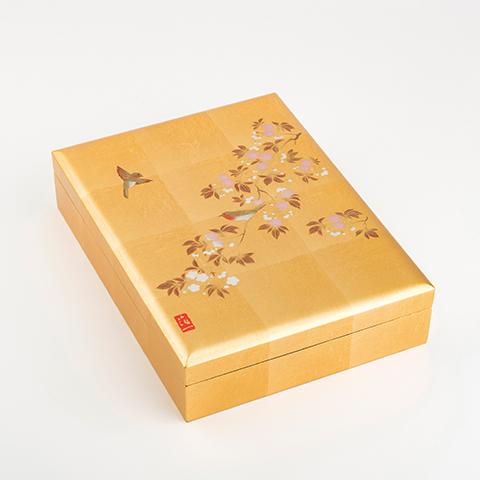 【ふるさと納税】花見鳥 手許箱