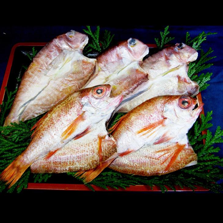 【ふるさと納税】能登の里干し 珠洲塩・海洋深層水に漬け込んだ「のどぐろ・甘鯛」の贅沢な一夜干セット 魚 鮮魚 干物 冷凍配送 (のどぐろ2枚 ・甘鯛3枚)