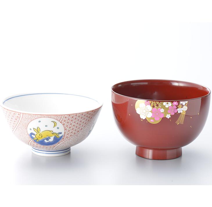 【ふるさと納税】能登の花嫁お椀と九谷焼飯碗セット
