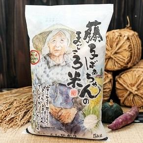 【ふるさと納税】022001. 藤子ばぁちゃんのまごころ米 10kg(5kg×2袋)