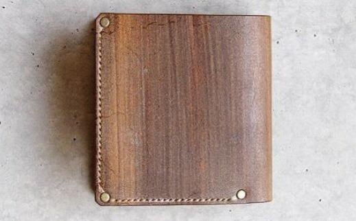 【ふるさと納税】105002. Folded Wallet FW-16sl /「LEATHERS by Kei Arabuna」