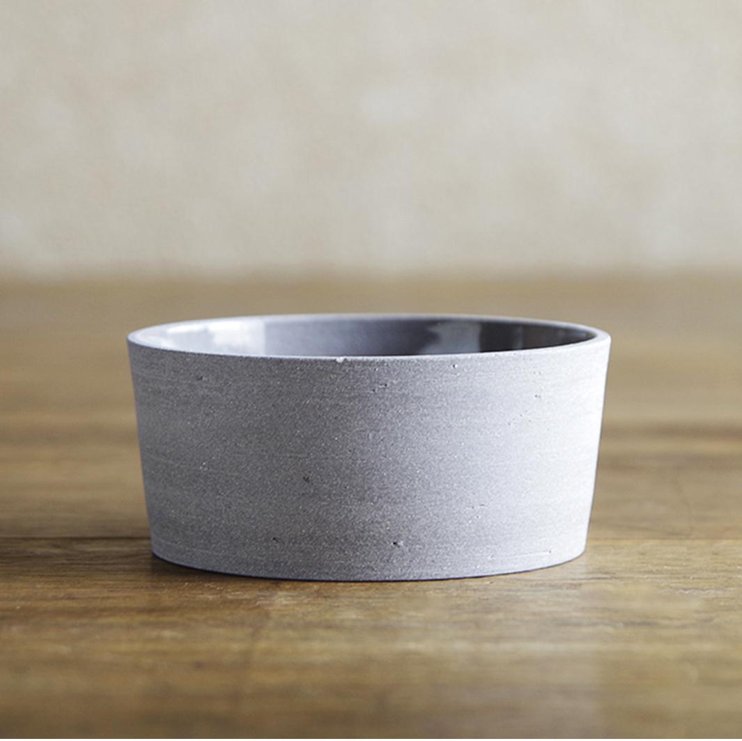 【ふるさと納税】019003. CONCRETE CERAMIC Bowl