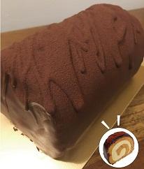 【ふるさと納税】010065.いぶろーる 棒茶チョコ太巻