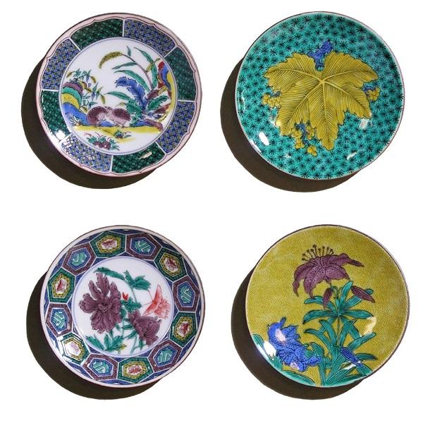 【ふるさと納税】010080. 名品小皿コレクション4点 E