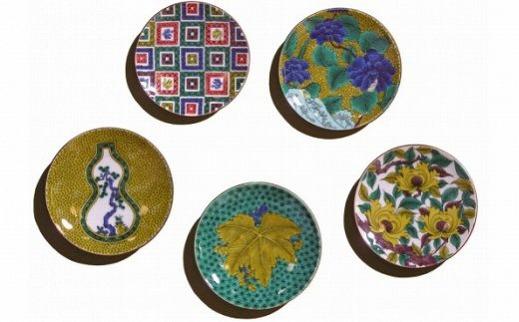 セール特別価格 愛らしい5枚 ふるさと納税 010092. はしおき 特別セール品 名品コレクション 姫皿