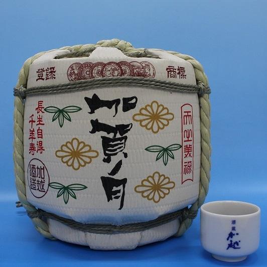 【ふるさと納税】015002. 加賀ノ月 豆樽(本醸造 1800ml)