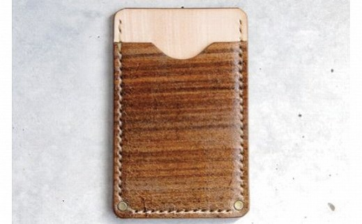 【ふるさと納税】044003. Card Case /「LEATHERS by Kei Arabuna」