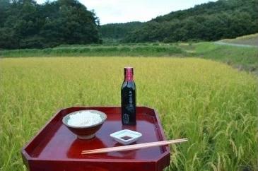 『無農薬』『無肥料』にこだわって育てました☆ 【ふるさと納税】【輪島のお米】自然栽培米(精米2kg)と無農薬丸大豆醤油(120g)セット