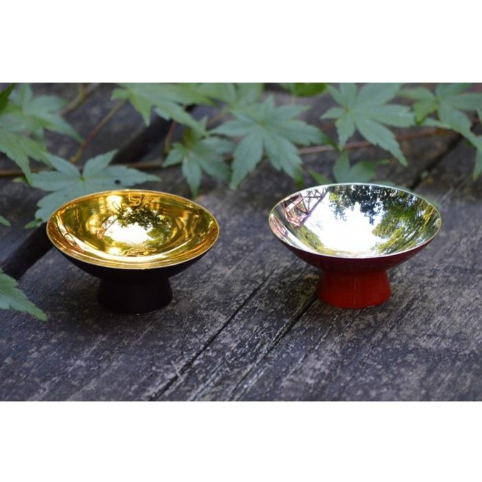 【ふるさと納税】漆塗 「玉盃」 Gyokuーhai