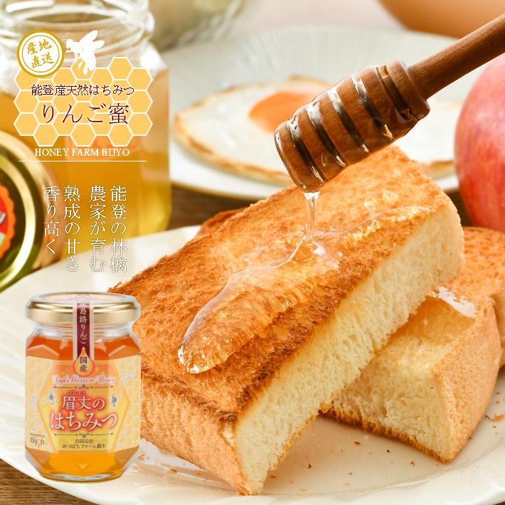 【ふるさと納税】[H023] 能登産天然はちみつ『りんご蜜』