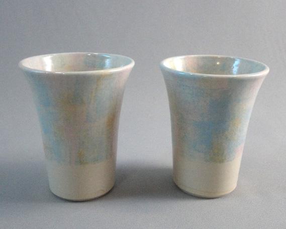 【ふるさと納税】No.090 色化粧フリーカップ / カップ ペアカップ 石川県