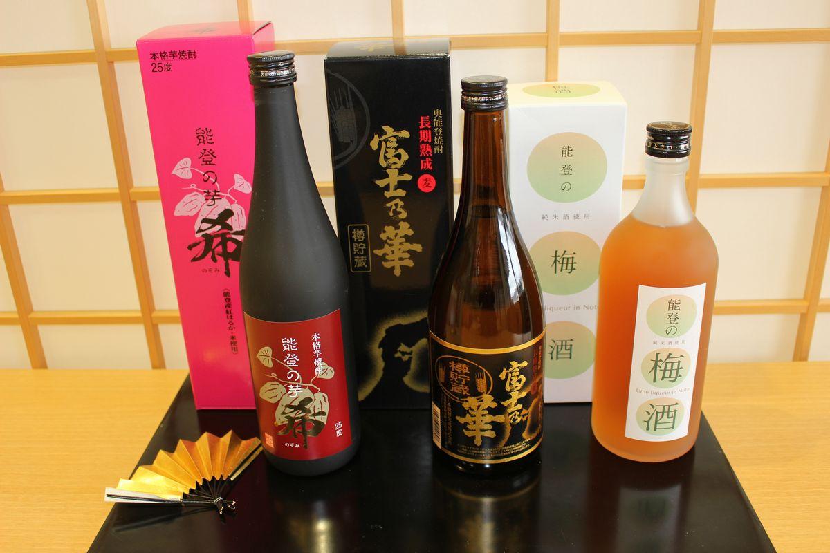 【ふるさと納税】能登の梅酒と焼酎セット