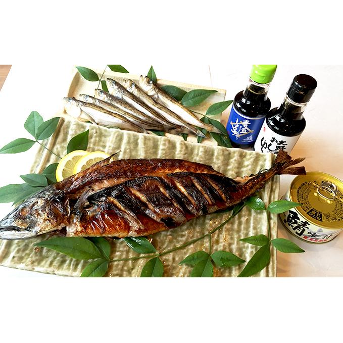 【ふるさと納税】ご飯がススム大野食文化セット 【魚介類・サバ・鯖・醤油・詰め合わせ】