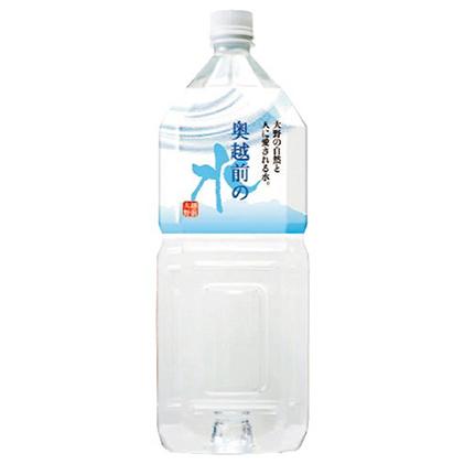 3か月お届けコース 【ふるさと納税】奥越前の水 【定期便・飲料類・水・ミネラルウォーター】  PET2L×6本
