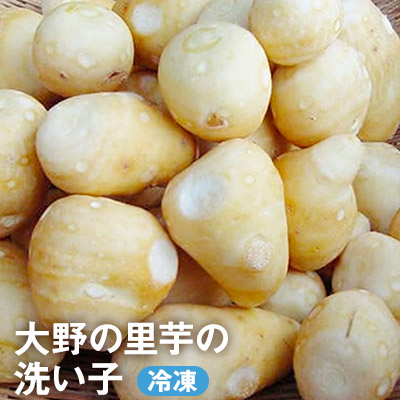 福井県大野市 ふるさと納税 いつでもすぐにつかえるんやざ 大野の里芋の洗い子 冷凍 日本正規品 野菜 根菜 今ダケ送料無料