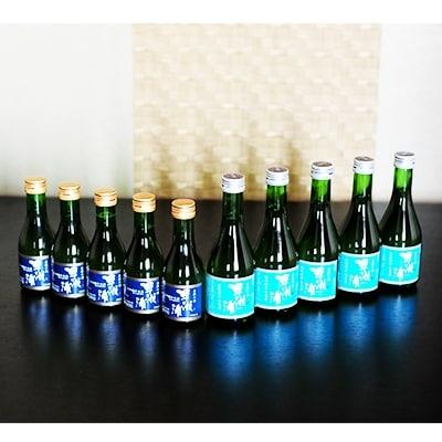 【ふるさと納税】【早瀬浦】大吟醸(冷酒)180ml(5本)と特別純米酒(冷酒)300ml(5本)のセット【1022426】