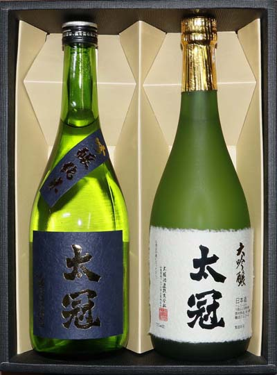 【ふるさと納税】日本酒 大吟醸・吟醸純米2本セット 各720ml【 飲み比べ 山梨県 南アルプス市 】