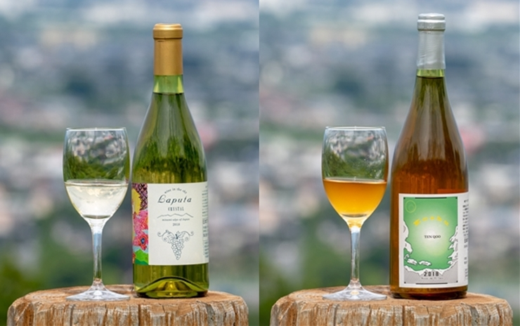 【ふるさと納税】南アルプス天空舎が贈る「甲州ワイン白とオレンジの競演」2-3-9 【 山梨県 南アルプス市 】