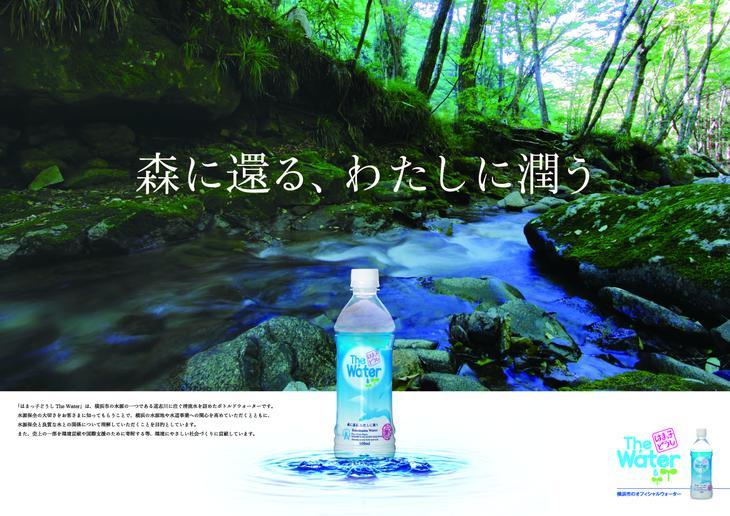 【ふるさと納税】道志の森のおいしい水 はまっ子どうしThe Water(横浜市のオフィシャルウォーター)500ml×24本