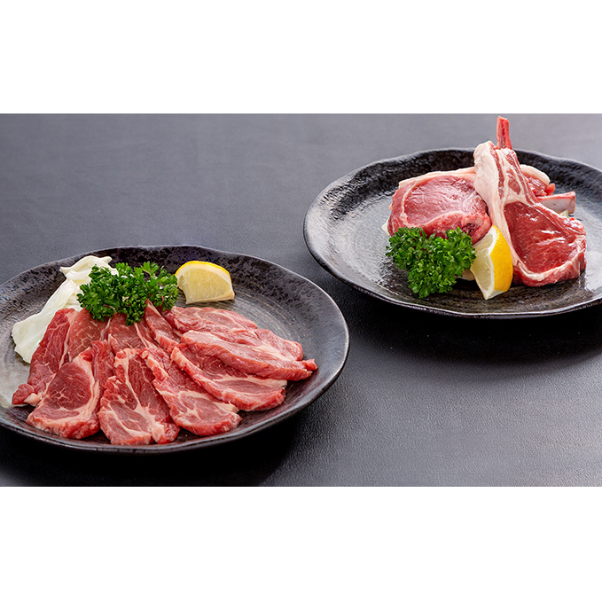 長野県長野市 ふるさと納税 塩で食べる極上ラム肉セット 代引き不可 肉 ジンギスカン SALENEW大人気! ラム肉 ラム 羊肉