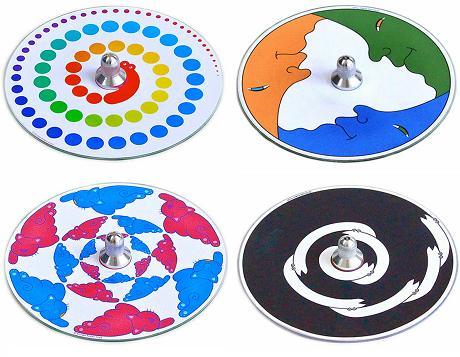 【ふるさと納税】012-004美しく不思議な「CDコマ4個」