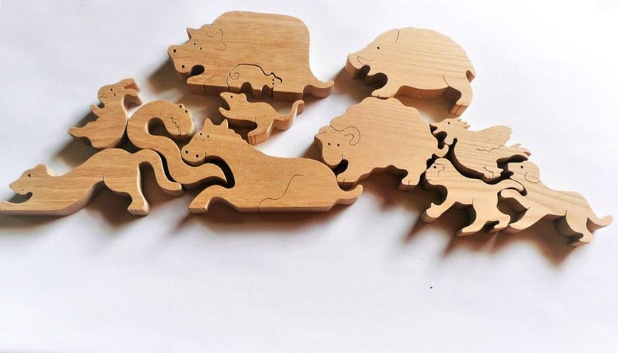 【ふるさと納税】044-001木のおもちゃ「12支物語」